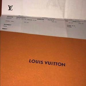 Louis Vuitton Damier Graphite belt